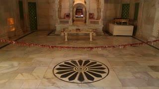 Indoor altar at Jaswant Thada temple in Jodhpur.