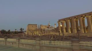 LUXOR, EGYPT - FEBRUARY 10, 2016: View of Karnak temple in Luxor