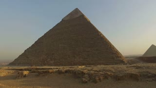 Pyramid of Khafre, second largest known pyramid in Egypt