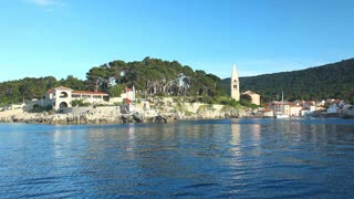 Town of Veli Losinj, Croatia