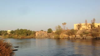 View of Nile river and surrounding