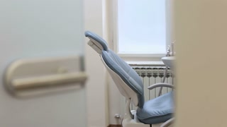Zoom in view of dental chair