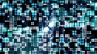 Blue Flashing Light Grid