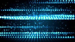 Blue Glitter Streaks