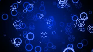 Blue Soft Circles