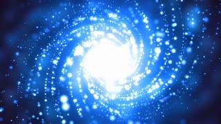 Blue Spiral Galaxy