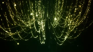 Chandelier Particle Lights