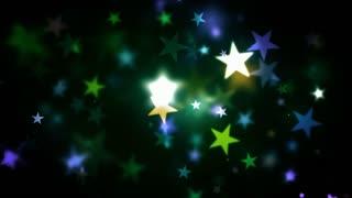 Colorful Holidays Shining Stars