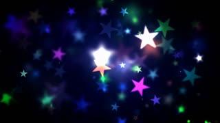 Colorful Shining Stars