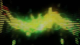 Dance Music Light Box Background