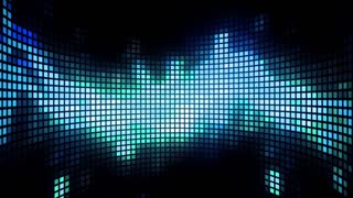 Dancing Light Grid Background