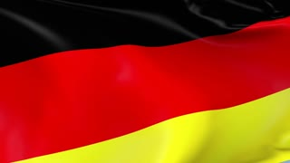 Germany Waving Flag Background Loop