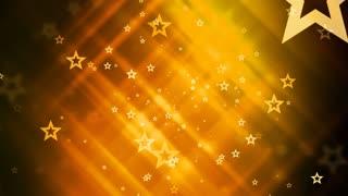 Glittering Golden Stars