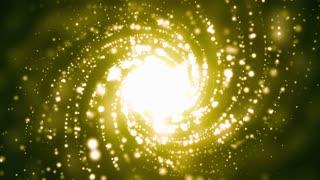 Golden Spiral Galaxy