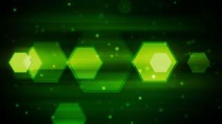 Green Dynamic Hexagons