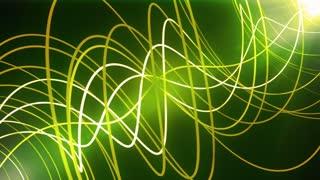 Green Glow Neon Lines