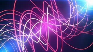 Neon Glow Lines Background