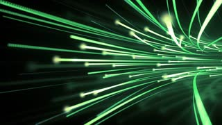 Optical Fibre Data Flow