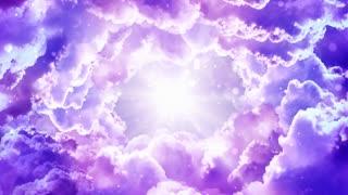 Purple Fantasy Clouds