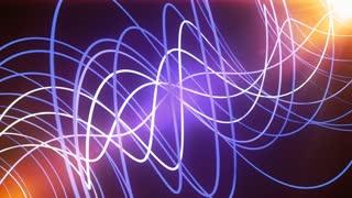 Purple Glow Neon Lines