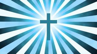 Retro Worship Cross