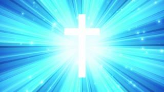 Starburst Light Rays Cross