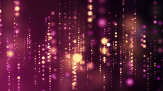 Abstract Particle Lights Strings