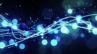Blue Light Streak Flow