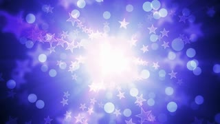 Cool Glittering Holiday Stars