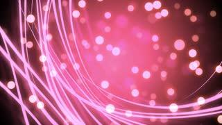 Flowing Light Streaks