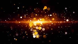 Golden Light Particles