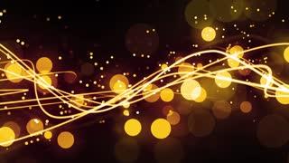 Golden Light Streak Flow