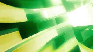 Green Abstract Motion Broadcast Edge