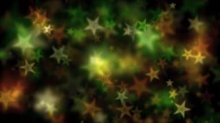 Green Bokeh Star Lights Motion