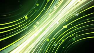 Green Neon Glow Streaks
