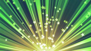 Green Rising Stars and Rays