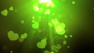 Heavenly Light Hearts