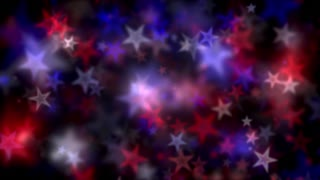 Patriotic Star Lights Motion