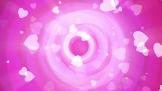 Pink Valentine Circles