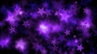 Purple Bokeh Star Lights Motion