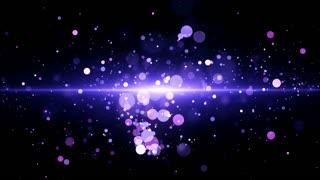 Purple Light Particles