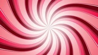 Red Retro Candy Swirl