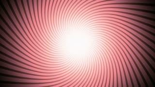 Retro Illusion Sunburst Red