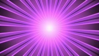 Retro Light Rays Magenta