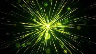 Serene Sparkling Light Streaks