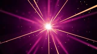 Shooting Star Light Streaks