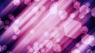 Soft Light Hexagon Shapes