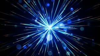 Sparkling Light Streaks