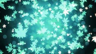 Winter Maple Leaves
