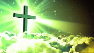 Worship Clouds Cross